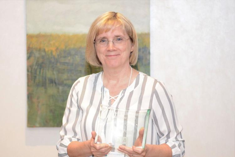 Ginny Powell gala award winner