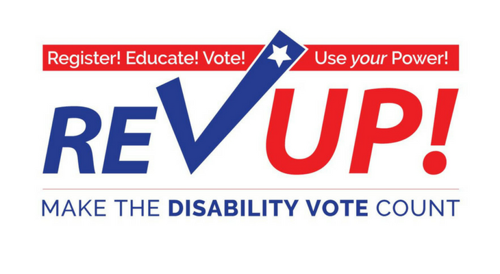 Register, Educate, Vote. Make the disability vote count
