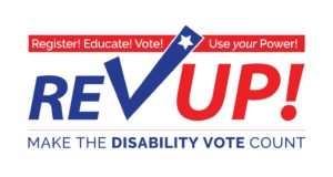 REV UP Register, Educate, Vote