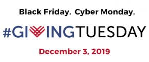 black friday, cyber monday, giving tuesday